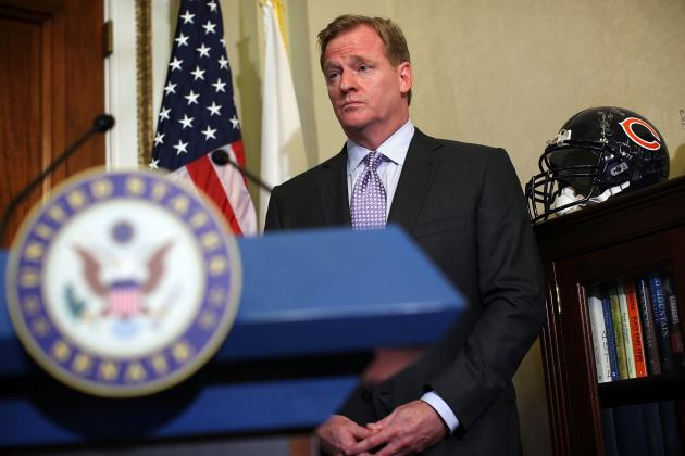 Roger Goodell: Delegating Bountygate Appeals Diminishes Commish's Credibility