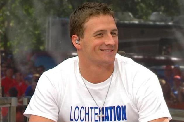 Ryan Lochte picks Auburn to win the LSU-Texas A&M game (VIDEO)