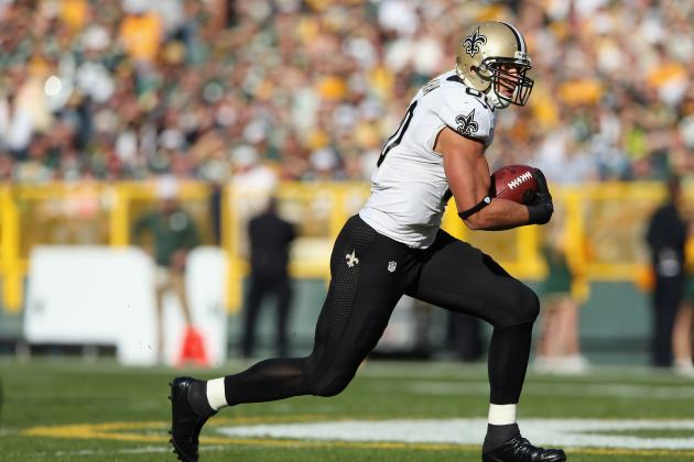 Saints Will Leave Jimmy Graham in New Orleans