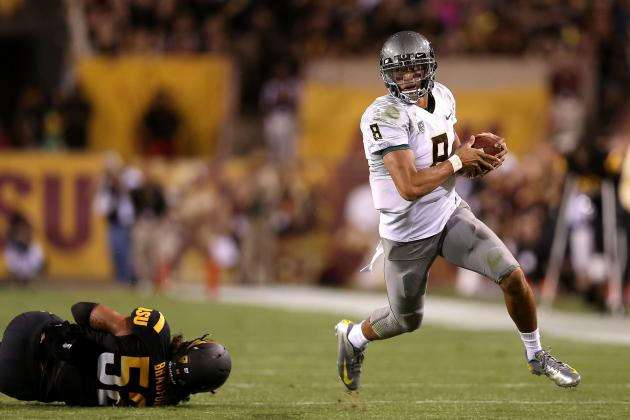 Oregon Football: Why Marcus Mariota Is a Top Heisman Contender