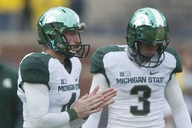Michigan State to Wear New Green HydroChrome Helmets for Michigan Game