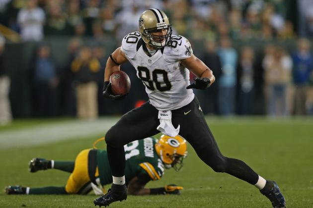 Jimmy Graham: Fantasy Expectations for Saints TE for Remainder of the Season