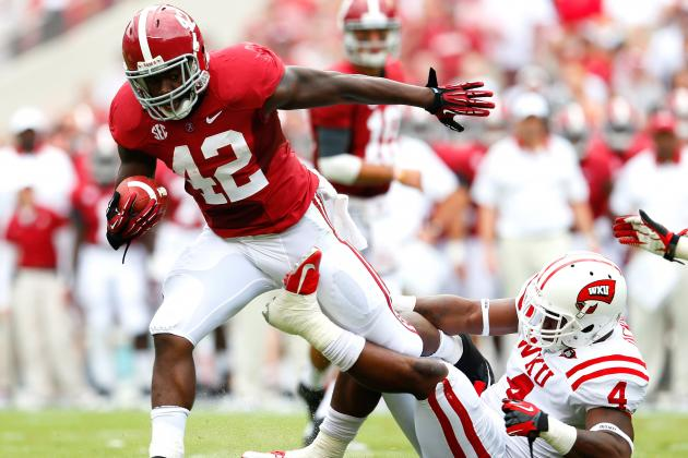 Alabama Football: Why T.J. Yeldon and Eddie Lacy Will Run by Tennessee