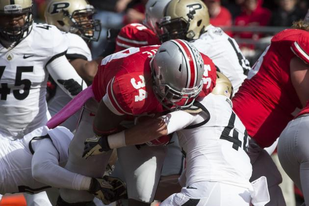 Ohio State Survives Upset Scare from Purdue in 29-22 Overtime Win