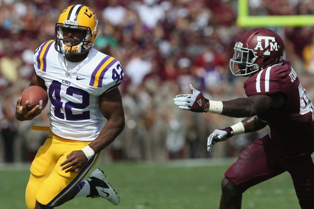 LSU vs Texas A&M: Handing out Game Balls in Impressive Tigers Win