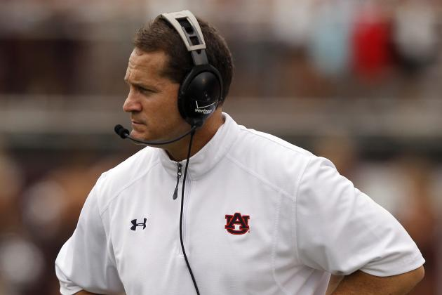 Gene Chizik: Vanderbilt Loss New Low Point for Auburn Coach
