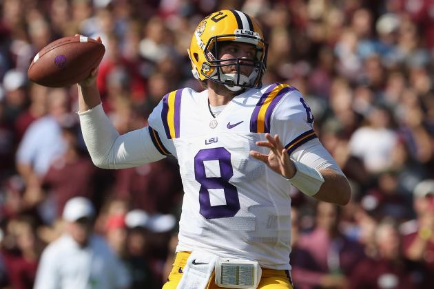 LSU vs. Texas A&M: Tigers Prove You Don't Need a QB to Win in the SEC