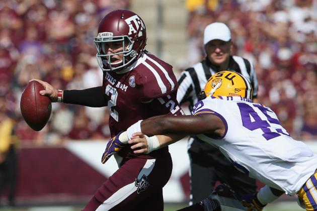 Heisman Watch 2012: Aggie QB Johnny Manziel Sees Hopes Dashed After LSU Loss