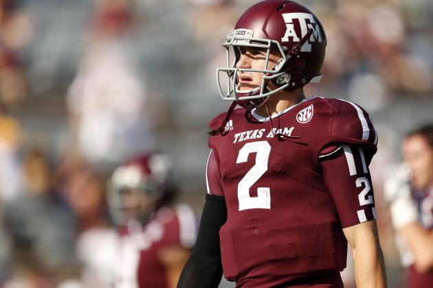 LSU vs. Texas A&M: Johnny Manziel Heisman Talk Ends Quicker Than It Started
