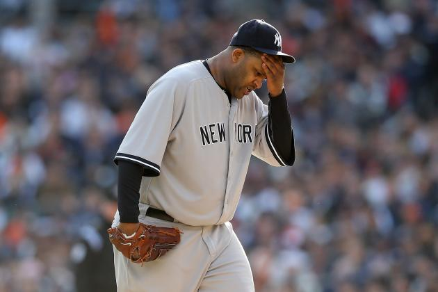 Yankees Sending CC Sabathia to See Dr. James Andrews About Balky Elbow