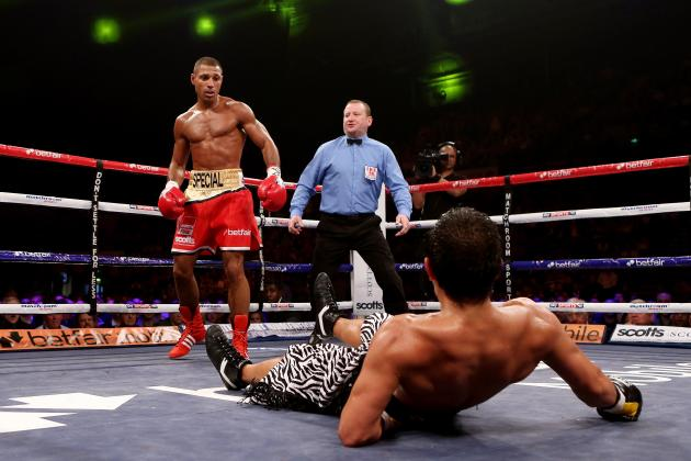 Brook Scores Clinical Stoppage over Saldivia, Becomes IBF Mandatory Challenger