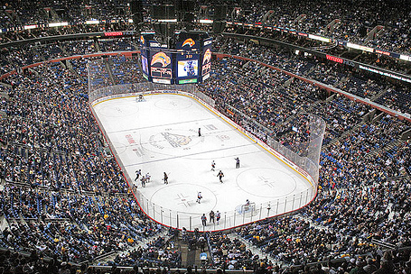 Lockout Dealing Big Blow to Sabres' Arena Workers