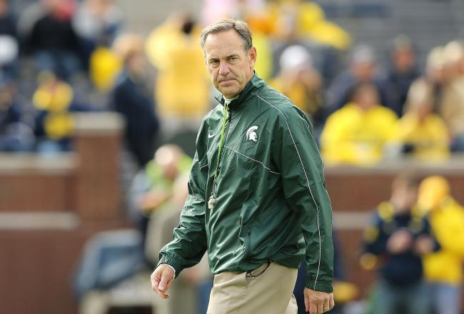 Michigan State coach Mark Dantonio always has a trick up his sleeve.