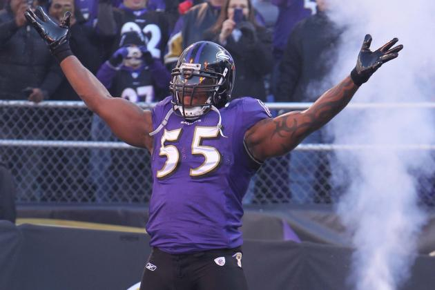 Terrell Suggs: Baltimore Ravens Should Play Star LB Sparingly vs. Texans