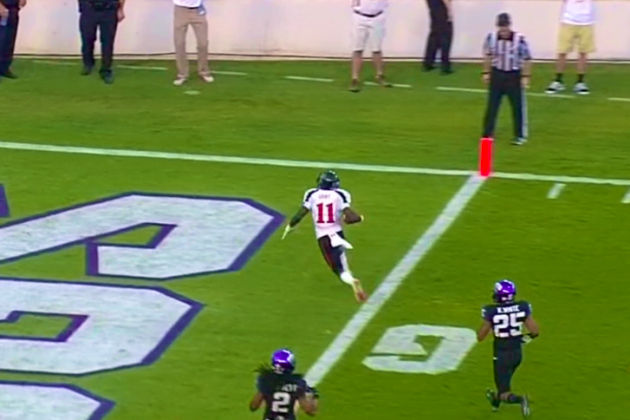 Texas Tech vs. TCU: Trick Play from Red Raiders