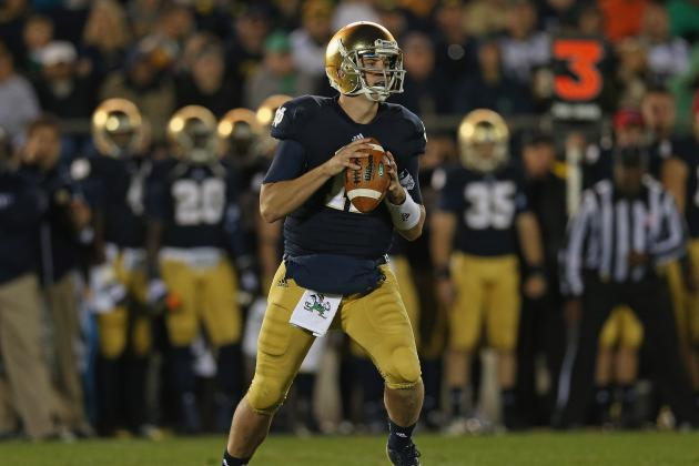 Notre Dame Escapes BYU: Why Irish Better Hope Tommy Rees Never Starts Again