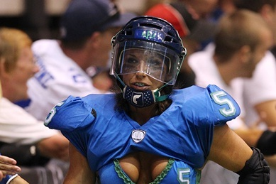 Jessica Hopkins Making a Strong Case as LFL Canada Defensive Player of Year