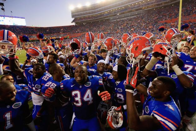 South Carolina vs. Florida: Gators Show They Deserve to Be No. 1 in BCS Rankings