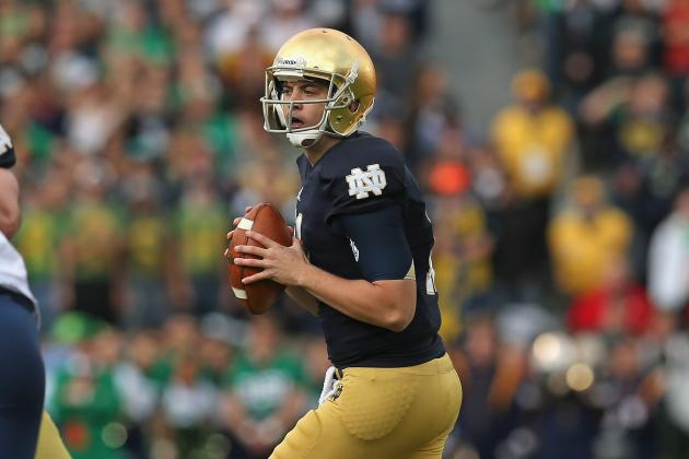 Notre Dame Football: Is Tommy Rees the Irish MVP Through 7 Games?