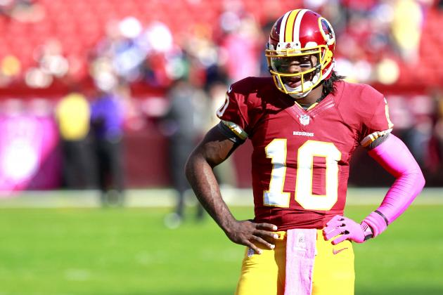 Why RG3 Shouldn't Fear Ferocious New York Giants Pass Rush