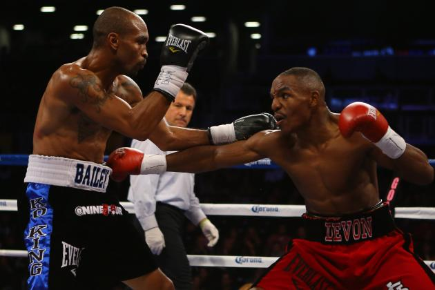 Alexander Decisions Baily, Wins IBF Belt