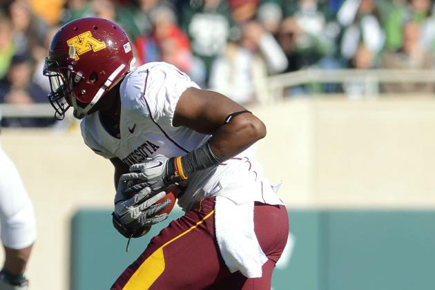 Gophers' MarQueis Gray Permanently Headed to WR, and He's OK with It