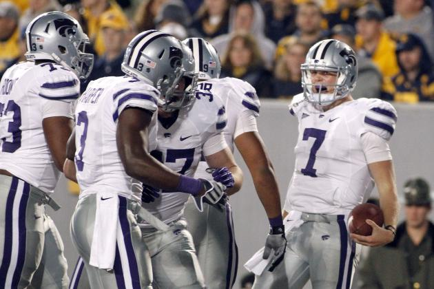 West Virginia vs. Kansas State: Collin Klein Throws 3 TDs in 55-14 Blowout
