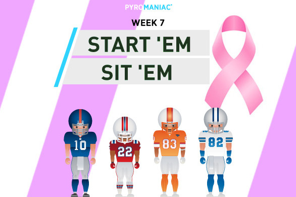 Fantasy Football 2012: Start 'Em, Sit 'Em for Week 7