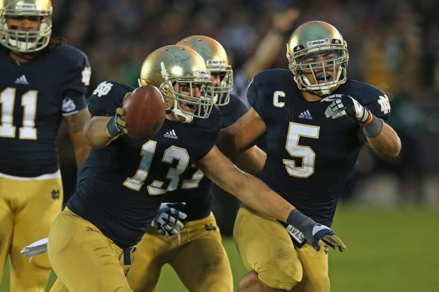 College GameDay Picks Notre Dame vs. Oklahoma: Will Irish Choke on Big Stage?