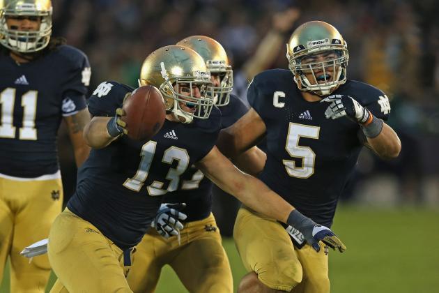 College GameDay Picks Notre Dame vs. Oklahoma: Will Irish Choke on Big Stage?