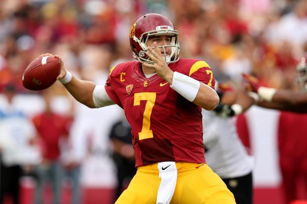 USC vs. Colorado: Matt Barkley Shines but He Still Has Work to Do for Heisman