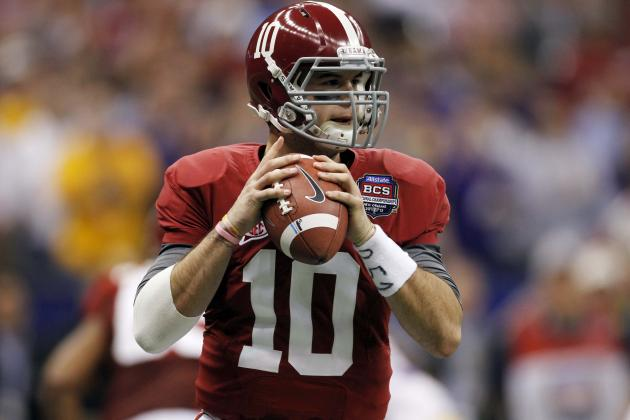 Alabama vs. Tennessee: A.J. McCarron Shows He's Head and Shoulders Above SEC QBs