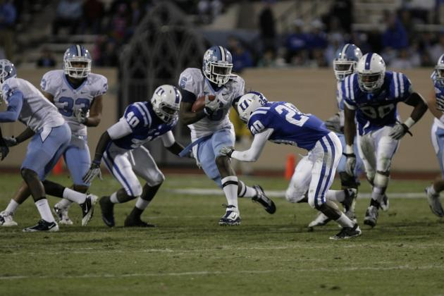 Duke Stuns UNC 33-30 on TD with 13 Seconds Left