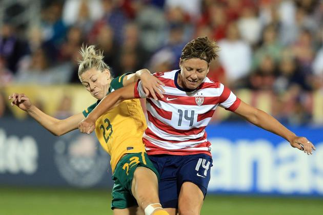 Wambach Helps USA Draw Germany