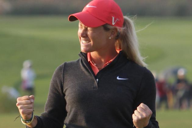 Suzann Pettersen Gets LPGA Win in Korea; Yani Tseng Finishes Third