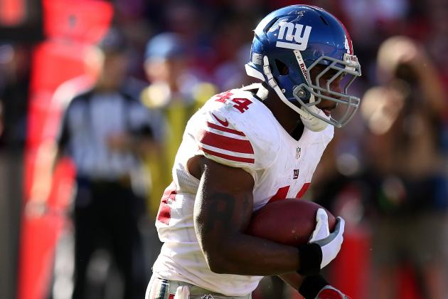 Ahmad Bradshaw Will Play Sunday for New York Giants