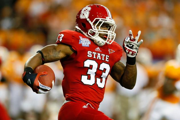 Troubled NC State RB Given the Boot