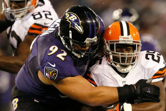 Ngata, McKinnie, Smith All Active Today vs. Hou