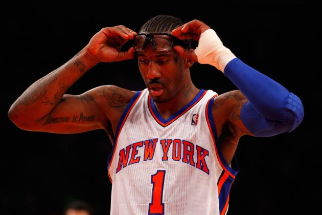 Amar'e Will Miss Season Opener with Knee Injury