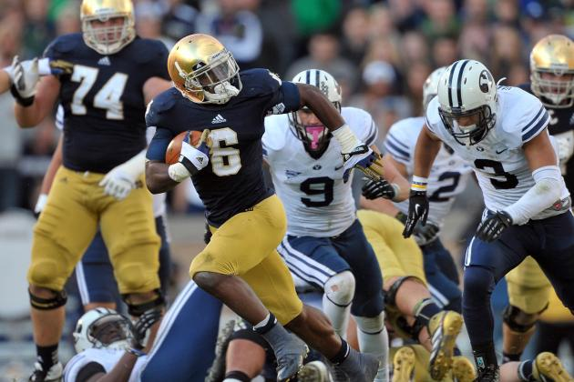 Riddick Energized Irish Offense