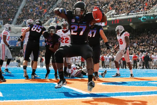 Boise State Football: Broncos Don't Deserve BCS Bowl Even If They Win out