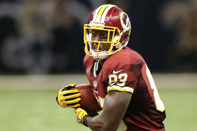 Fred Davis out for Rest of Game vs. Giants with Achilles Injury