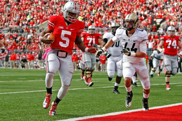 Braxton Miller Injury: Ohio State Must Take Extreme Precaution with QB