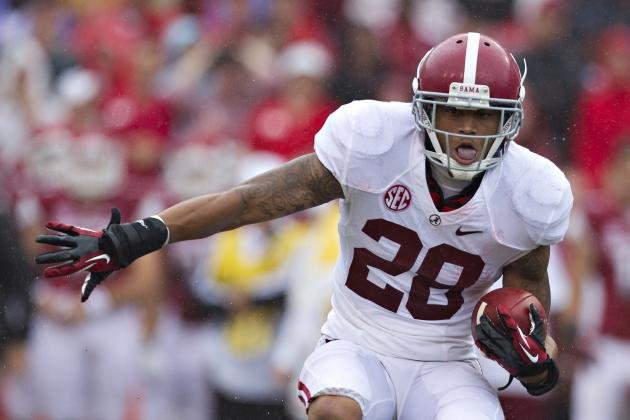 Alabama Football: Players Key to Crimson Tide's Success vs. Mississippi St.
