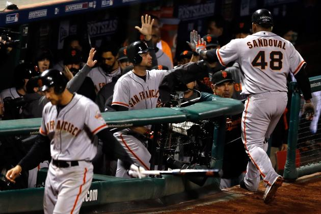 Giants Announce NLCS Game 6 Lineup