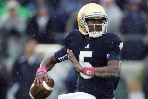 One more test Monday for Notre Dame QB Golson
