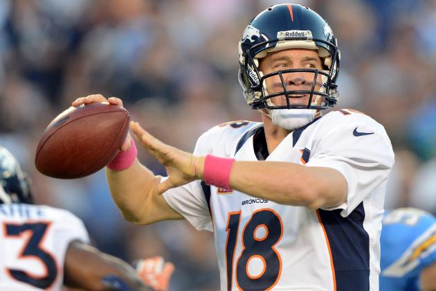 Peyton Manning: Predicting Week 8 Fantasy Output vs. Saints for Broncos QB
