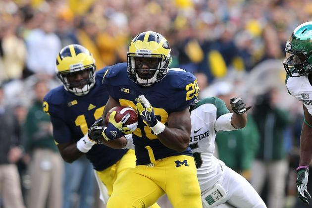 Michigan State vs. Michigan: Wolverines Had No Right to Storm Field After Win