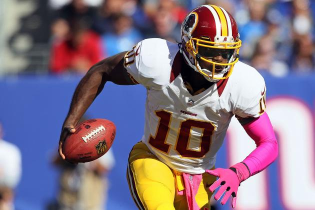 Robert Griffin III: Redskins Rookie Proving He's the Best Dual-Threat QB in NFL