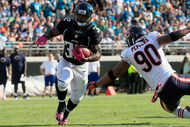 What Does Maurice Jones-Drew Injury Mean for Fantasy Owners, Jaguars?